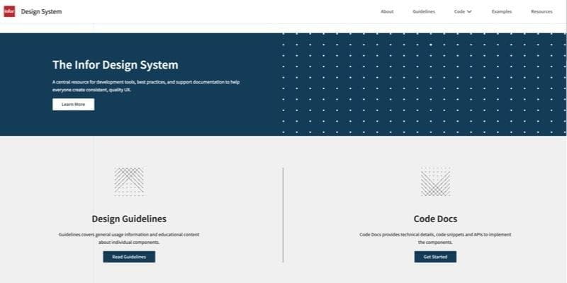 Infor Design System