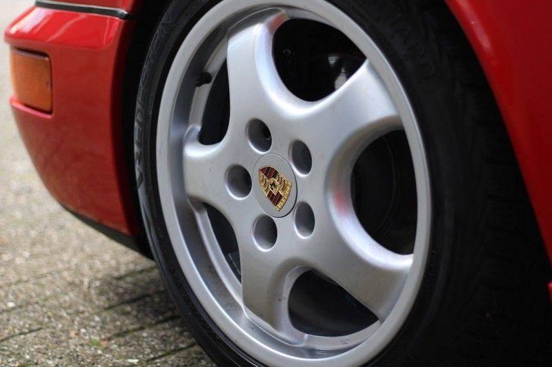Porsche 911 964 Carrera 2 Historie bekend, Airco, Schuifdak, Leder interieur, Achterruitenwisser afbeelding 9