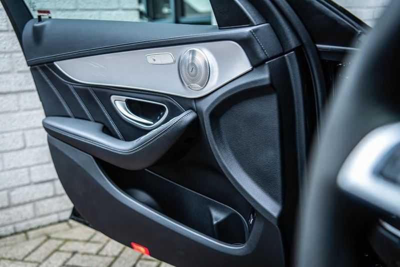 Mercedes-Benz C-Klasse 63 AMG, 476 PK, Pano/Dak, Distronic, Night/Pakket, Burmester, LED, Keyless, 30DKM, Nieuwstaat, BTW!! afbeelding 14