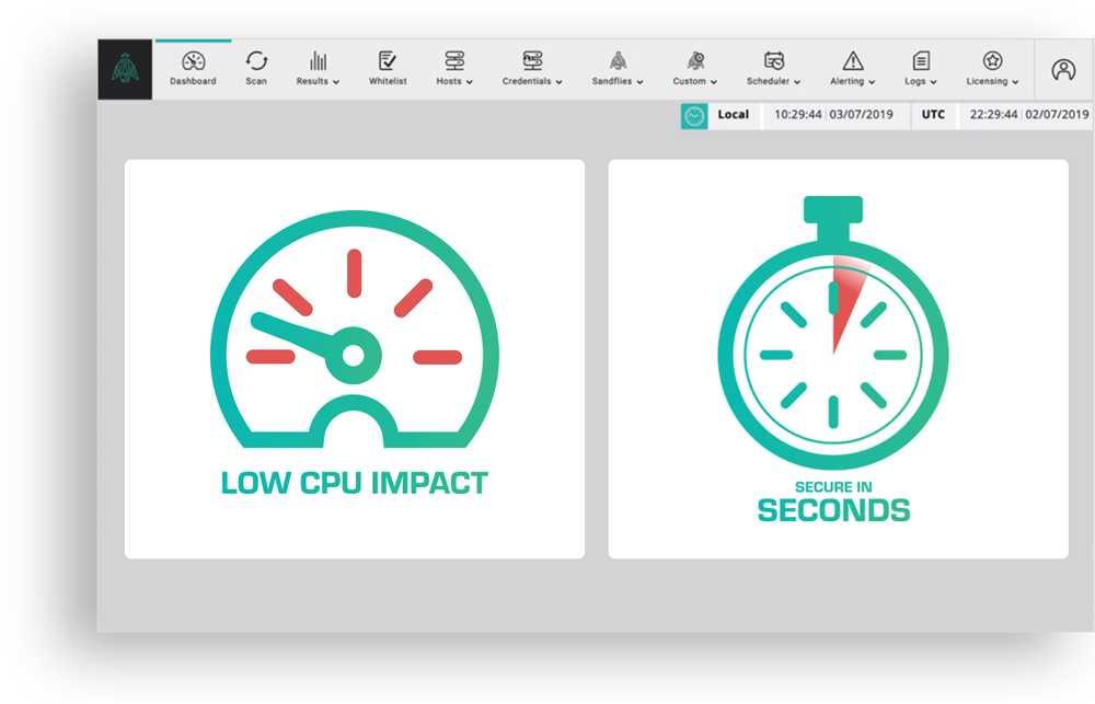 Low CPU impact