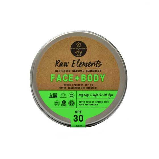 Face + Body Sunscreen SPF30 Plastic Free