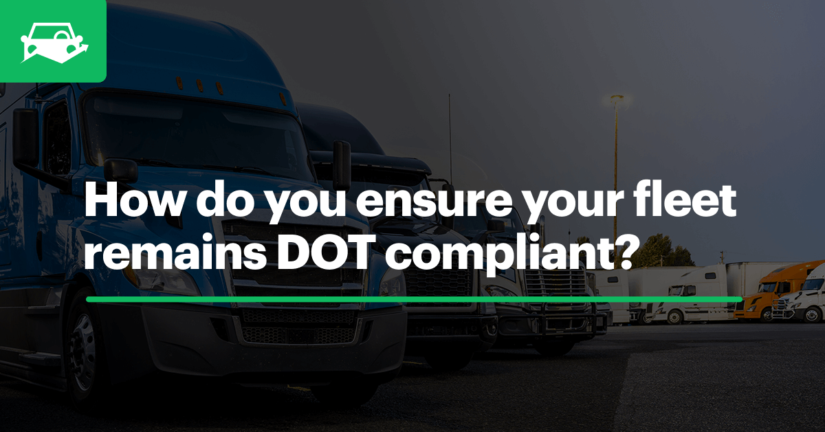 Dot compliance blog