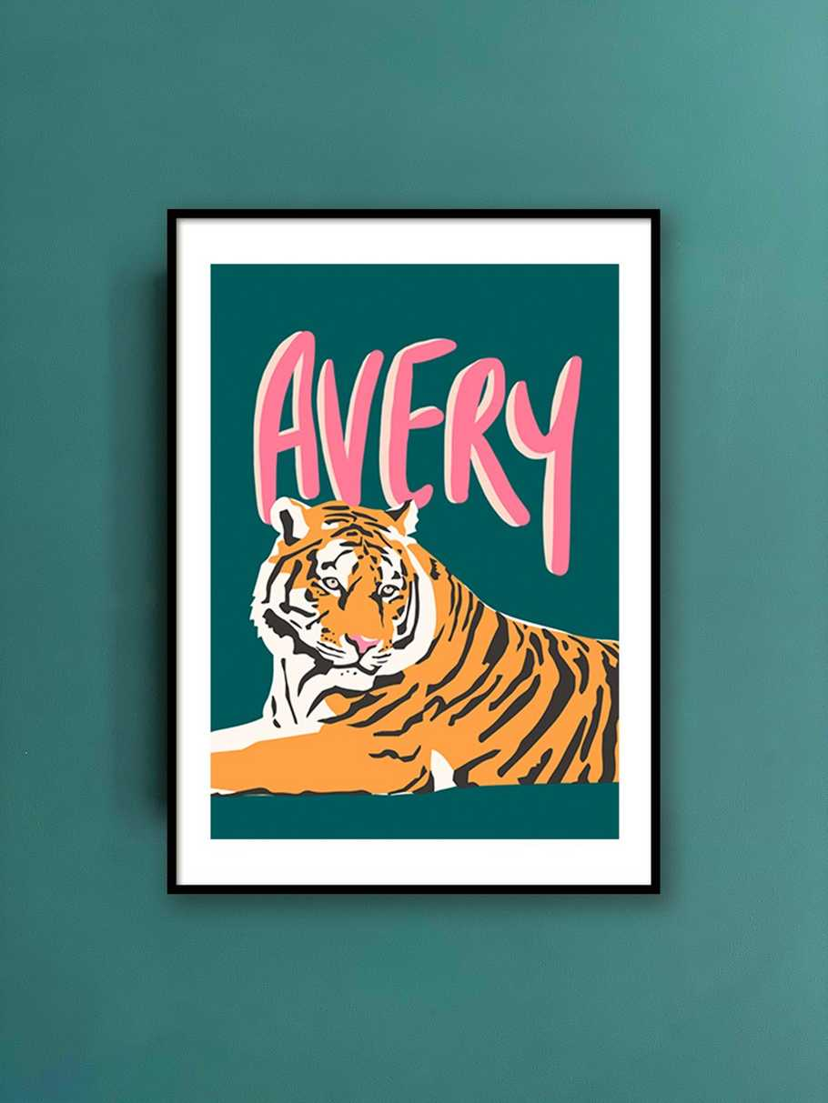 personalised-print-tiger