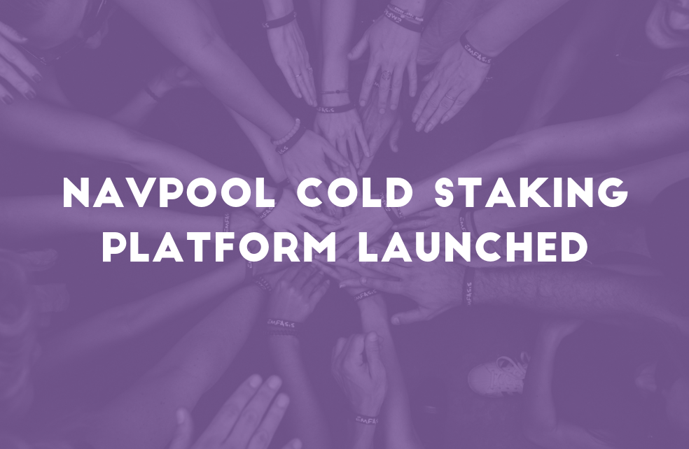 NavPool Cold Staking Platform Launched