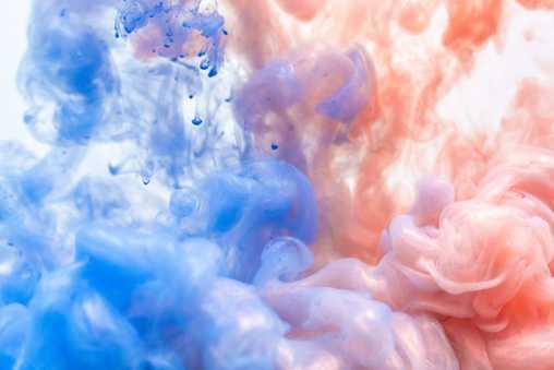 pink and blue swirls