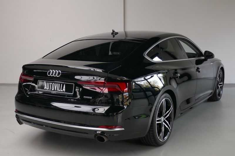 Audi A5 Sportback 2.0 TFSI MHEV quattro 252PK - Virtual Cockpit afbeelding 7