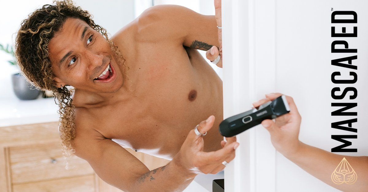How to groom a man's private area