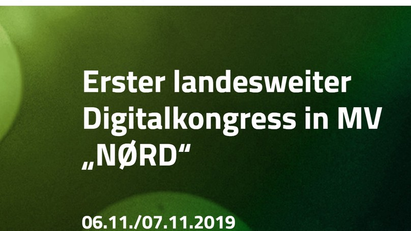 NØRD - Digitalkongress in MV