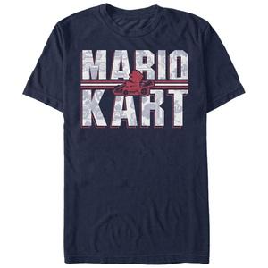 Mario Kart Text - T Shirt