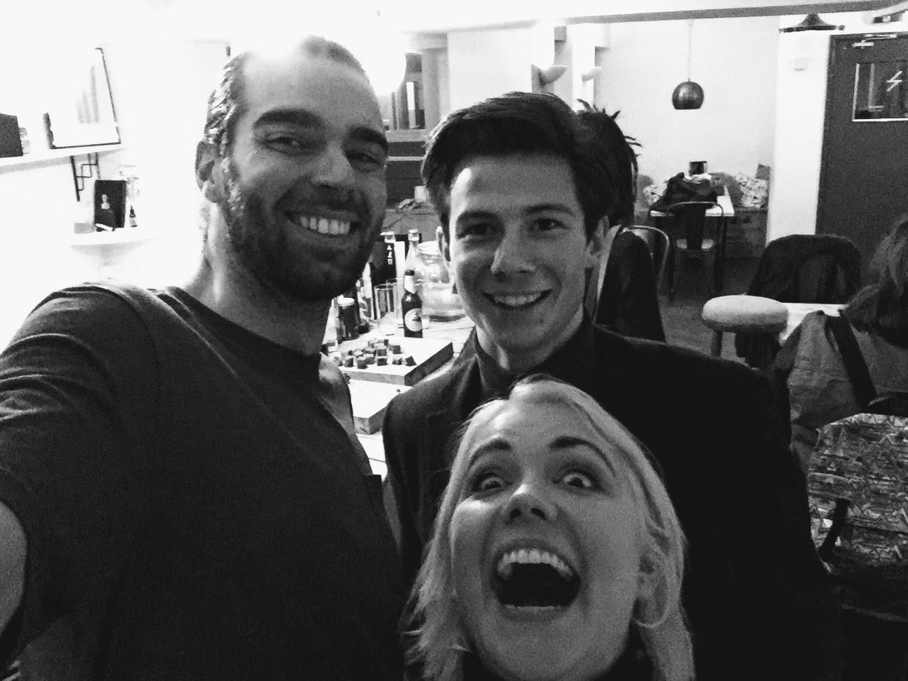 Alex, Hannah and Tony Edwards