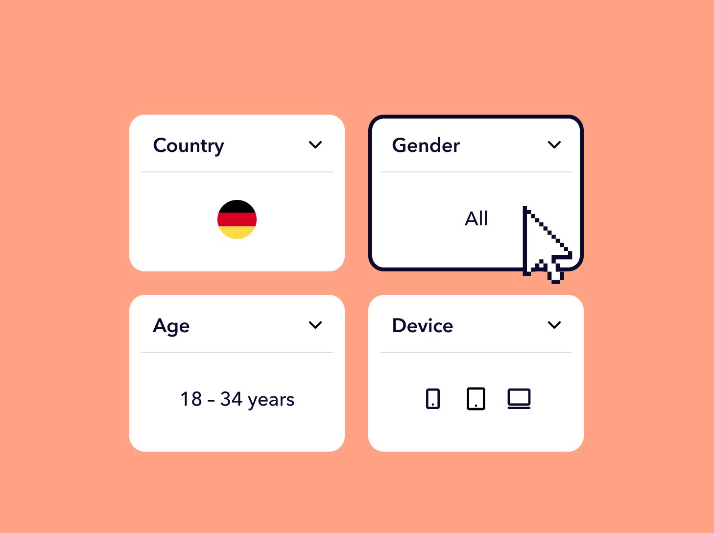 Different demographics