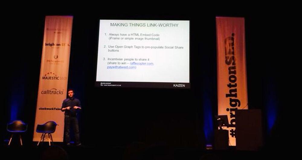 The Secret Weapon of Content Marketing: Native Advertising (Brighton SEO Presentation)