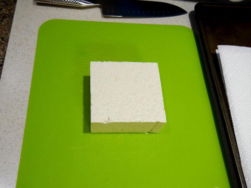 Pressing Tofu: Preparation