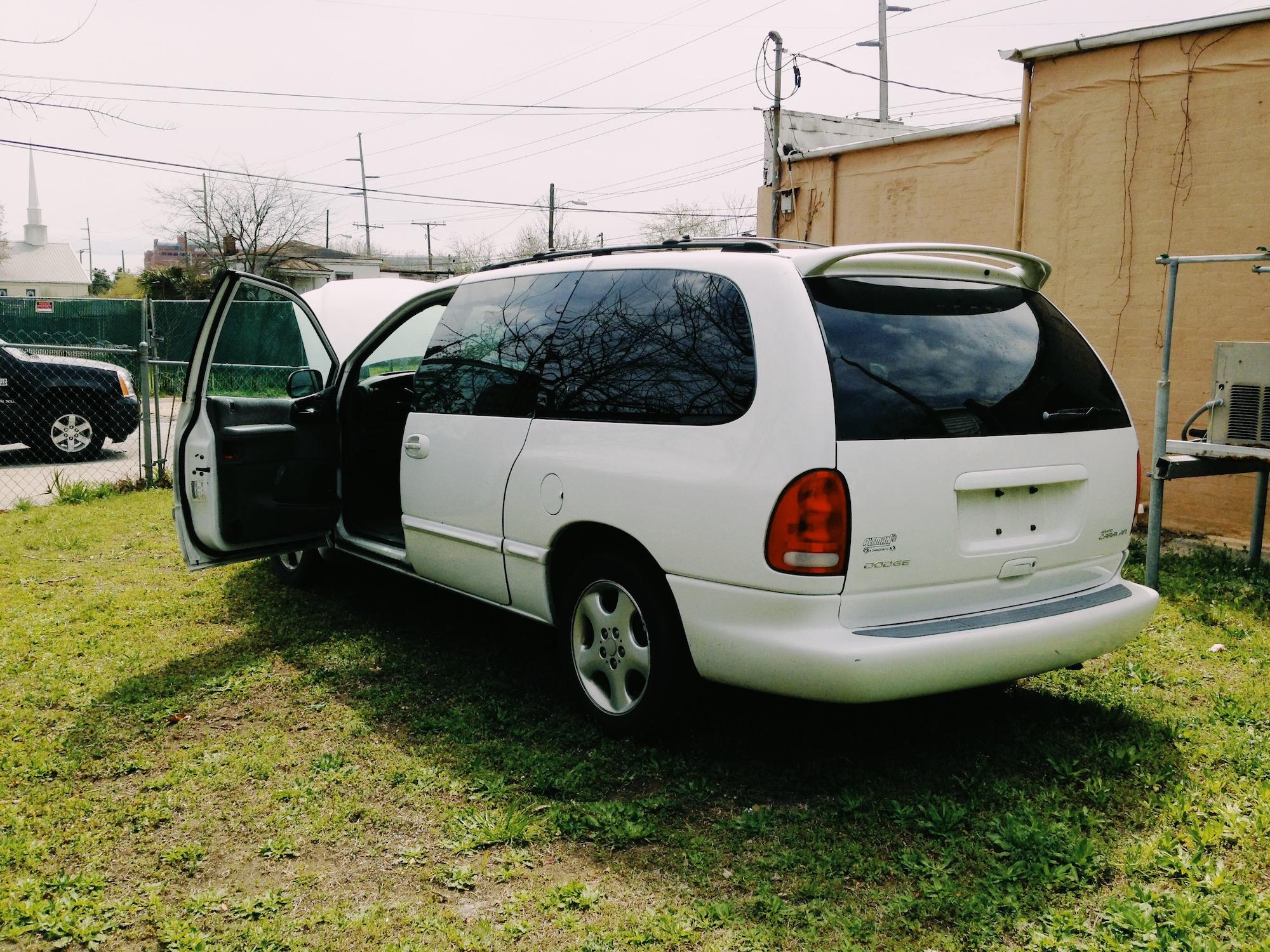 A Dodge Grand Caravan. Classic!