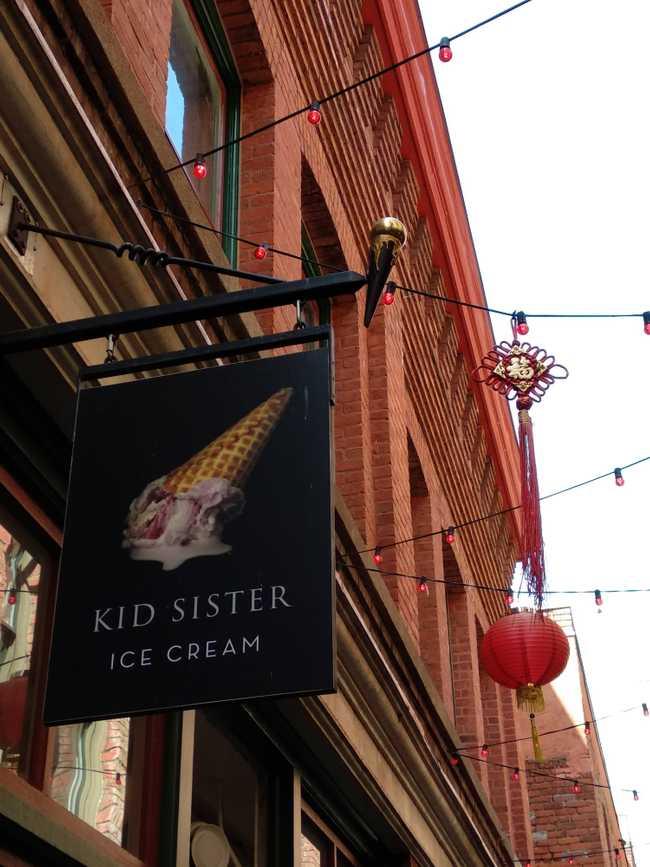Kid Sister Ice Cream