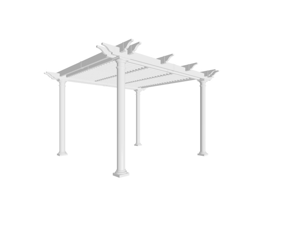 Preston Louvered Pergola