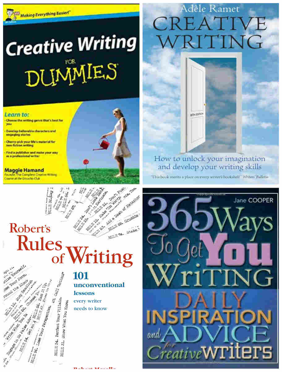 Creative Writing for Dummies, Creative Writing, Robert's Rules of Writing, 365 Ways to Get You Writing