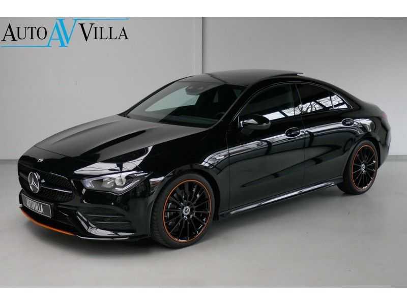 Mercedes-Benz CLA-Klasse 200 d /// AMG Edition 1 Nightpakket - Sfeer verlichting afbeelding 25