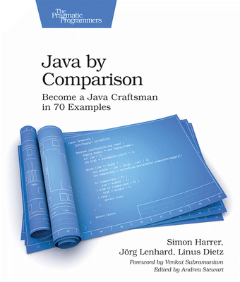 The Java by Comparison book