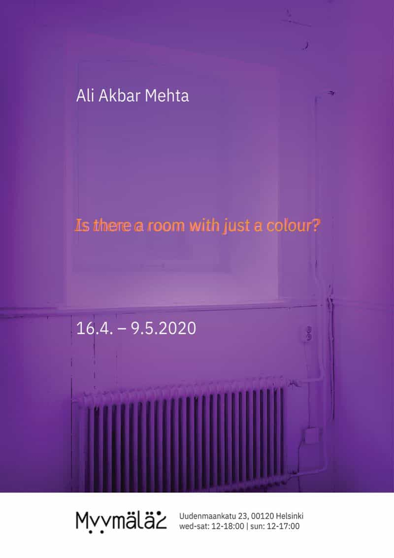 256 ~ Is there a room with just a colour?