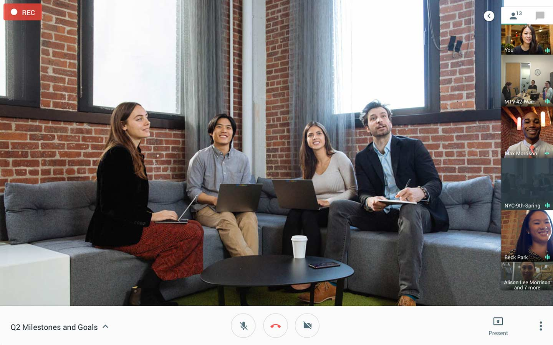 Video conferencing tool Google Hangouts Meet