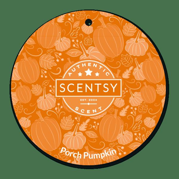Picture of Porch Pumpkin Scent Circle