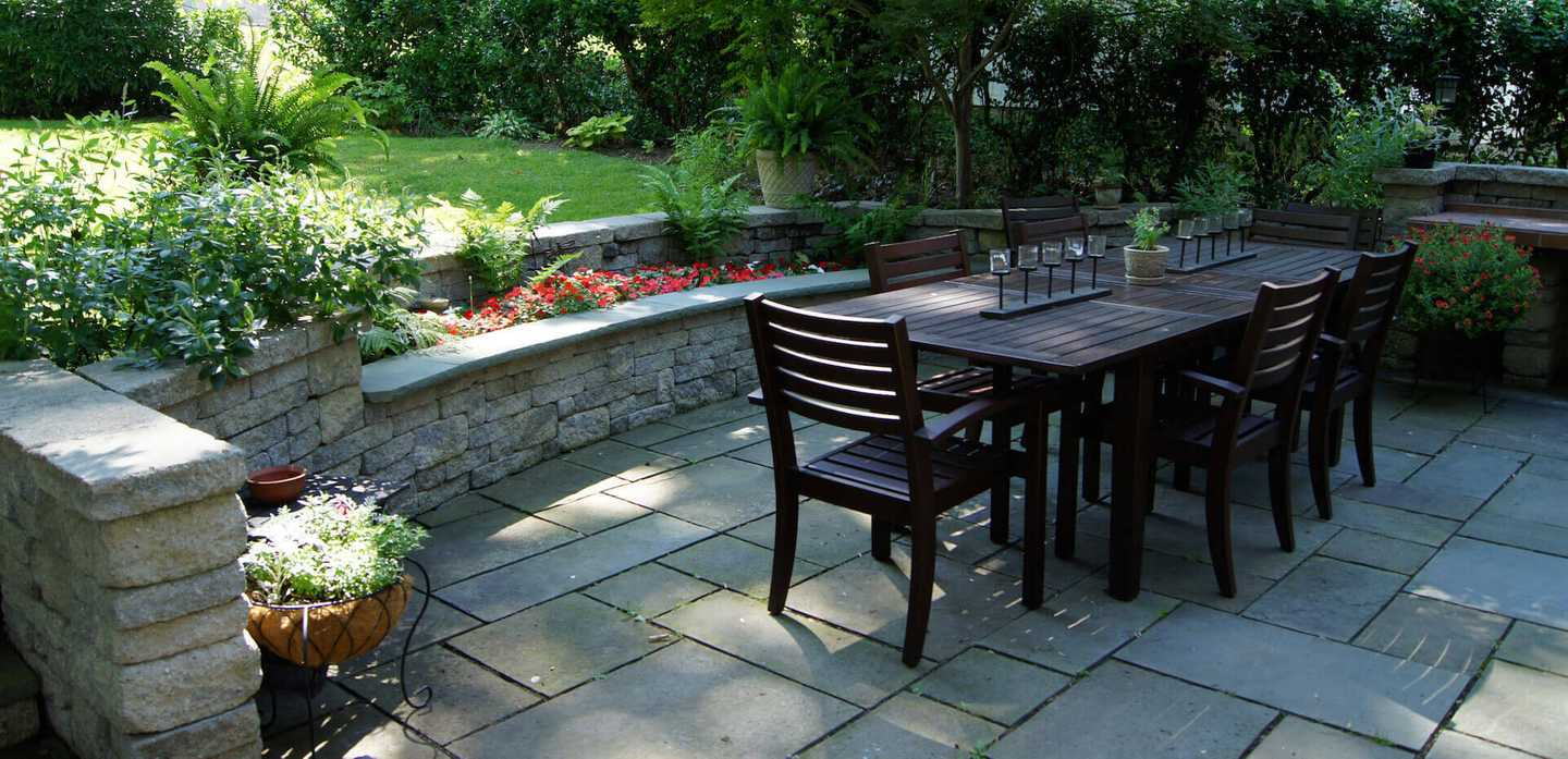 Outdoor Dining Residence catharine ann farnen landscape architecting overview