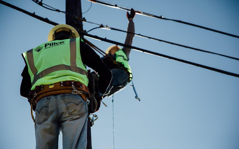 Pillar Innovations - Men working on communications.