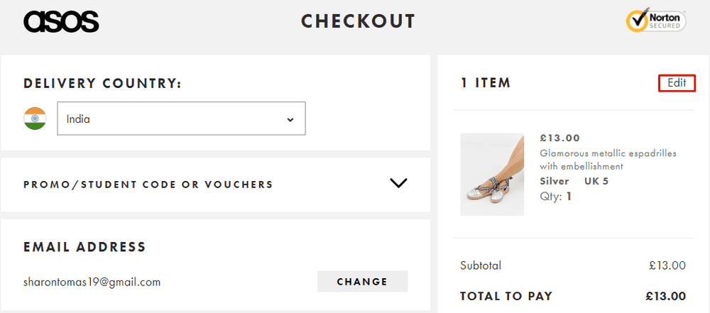Support easy cart editing