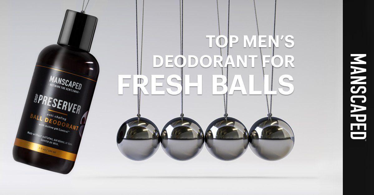 Top Men's Deodorant for Fresh Balls