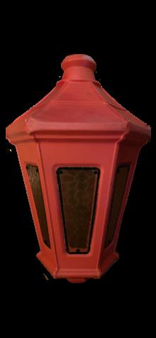 Old English Red Lantern photo