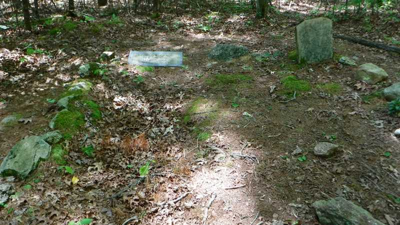 Two grave stones