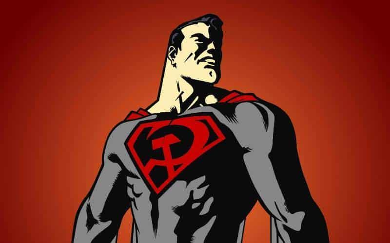 conheça superman entre a foice e o martelo