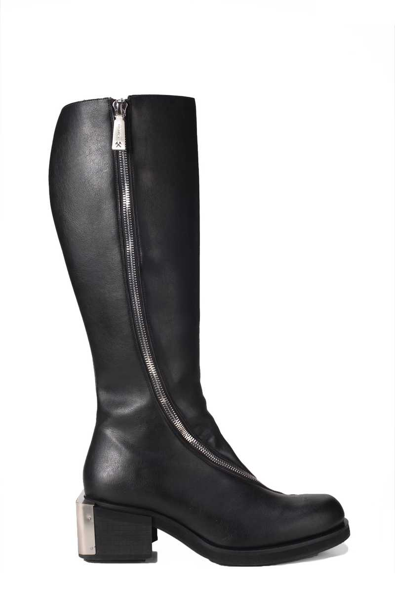 Riding boot in pleather black GmbH AW21 - 1