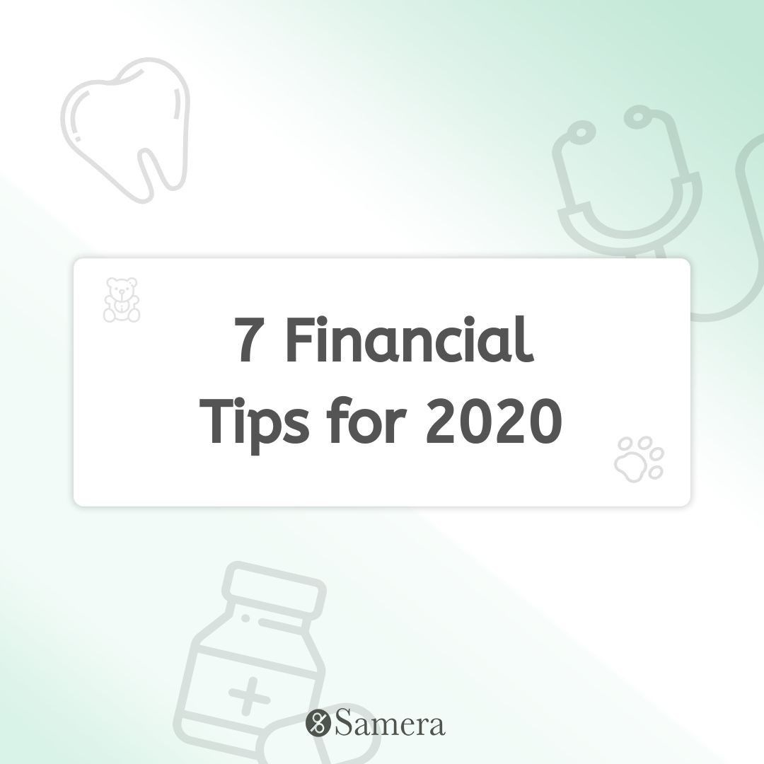 7 Financial Tips for 2020