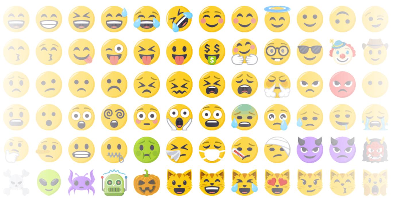 Emojics emojis
