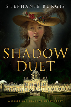 Cover for Shadow Duet, by Stephanie Burgis