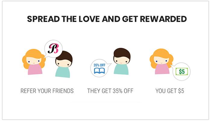 Referral reward