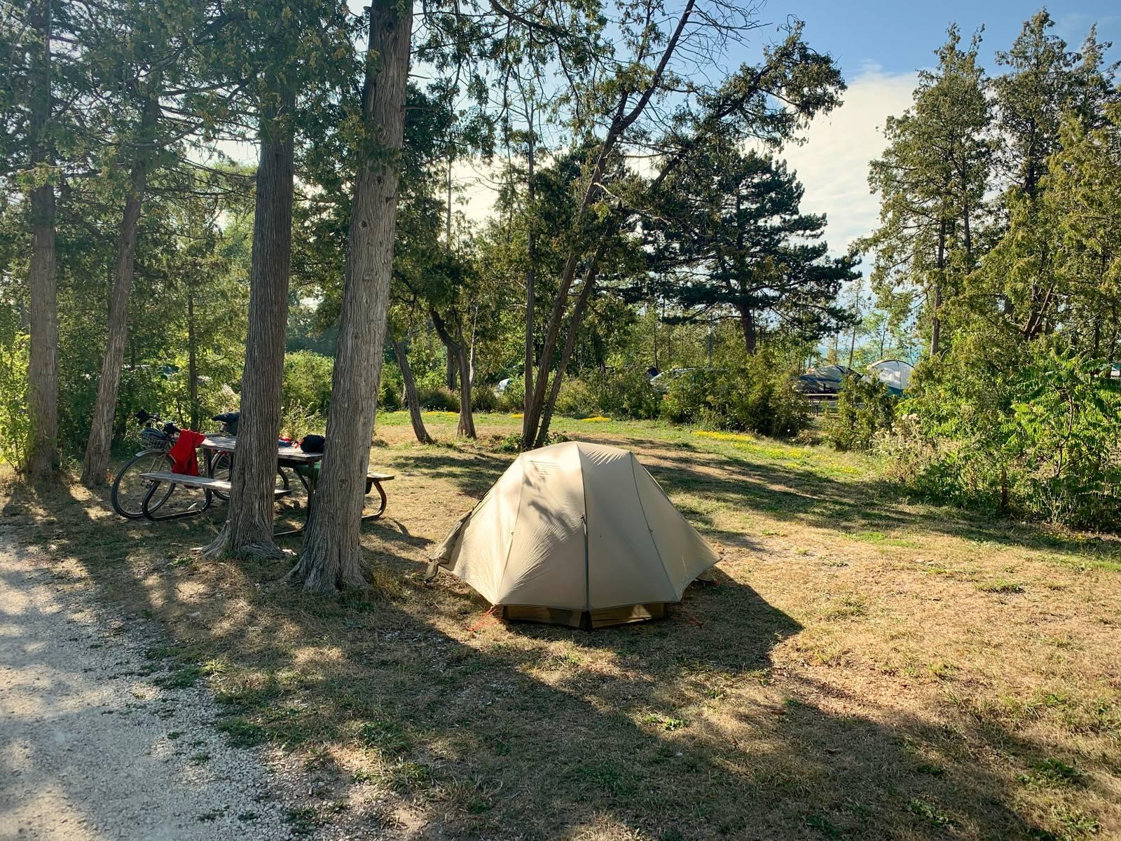 Craigleith campsite