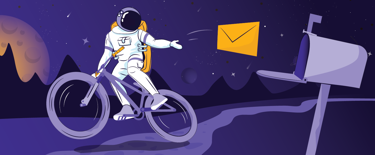 illustration of the blog post: The Galactic Fed Guide to Email Marketing That Converts
