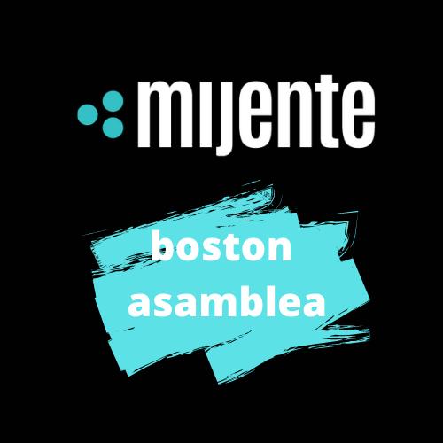 Mijente Boston Asamblea