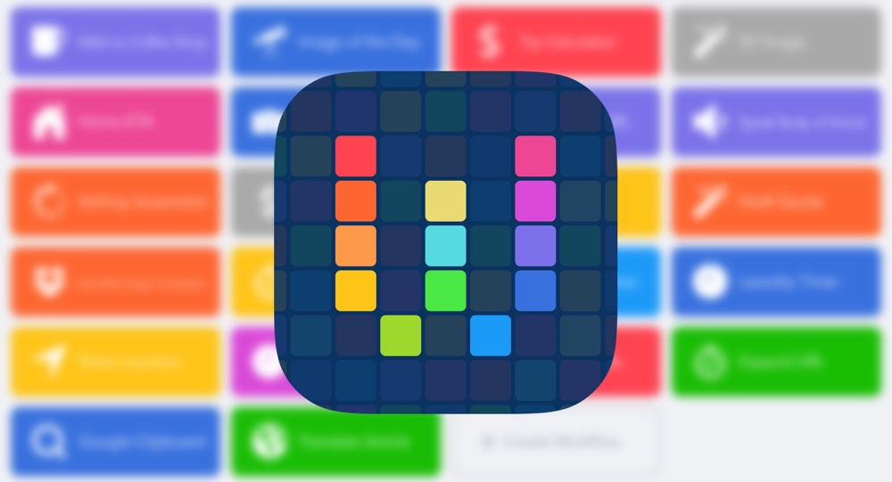 Workflow for iOS