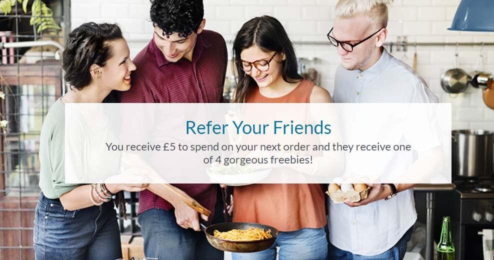 Packaged foods referral program