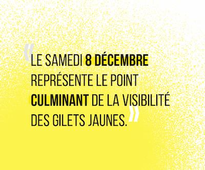 L'Acte IV du 8 décembre marque ainsi le sommet de la visibilité du mouvement