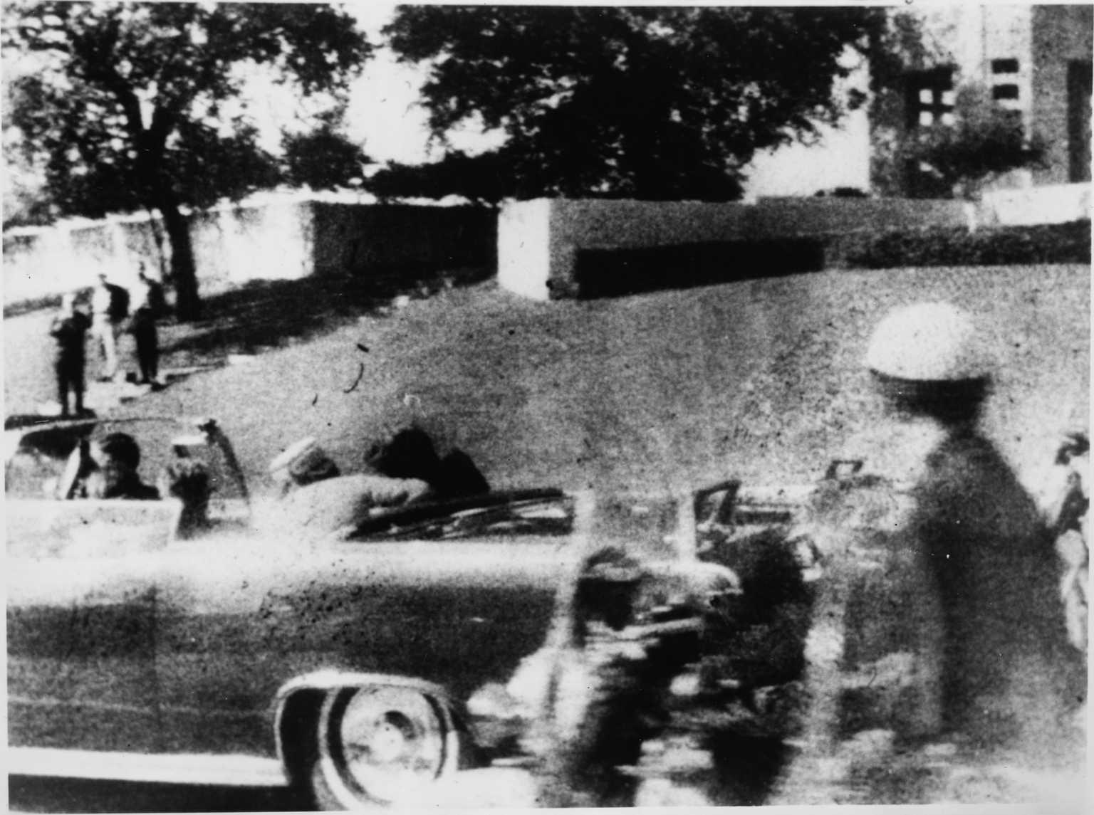 Moorman photo of JFK assassination