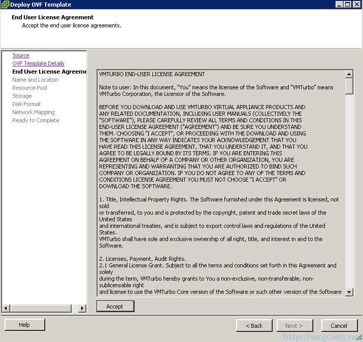 VMTurbo Operations Manager Installation and Configuration 4