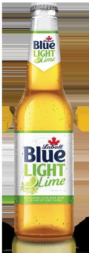 Labatt Blue Light Lime