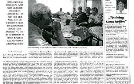 Zeitungsartikel von 2006