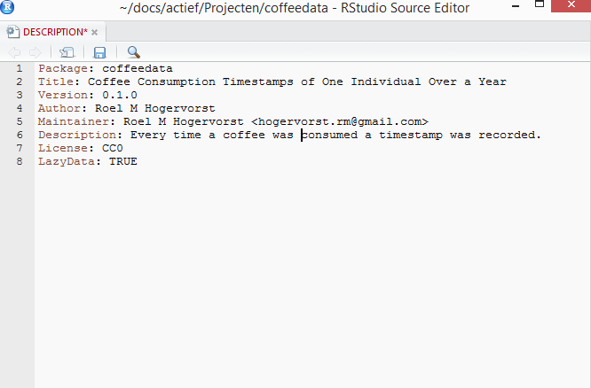image of package description