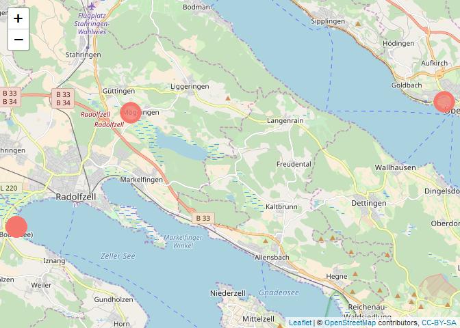 rOpenSci | What birds are observed near Radolfzell? Bird